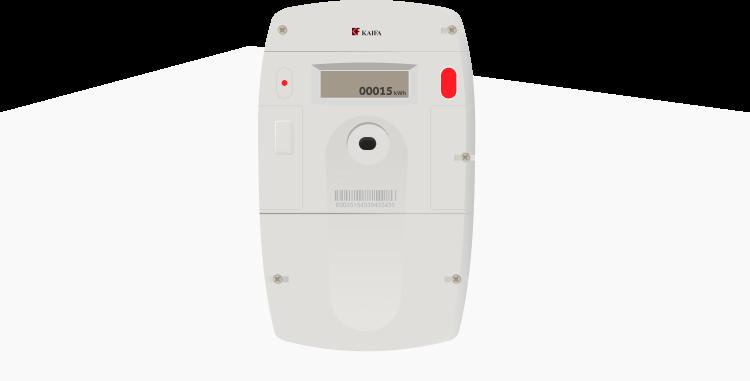 digitale meter energiemeter illustratie