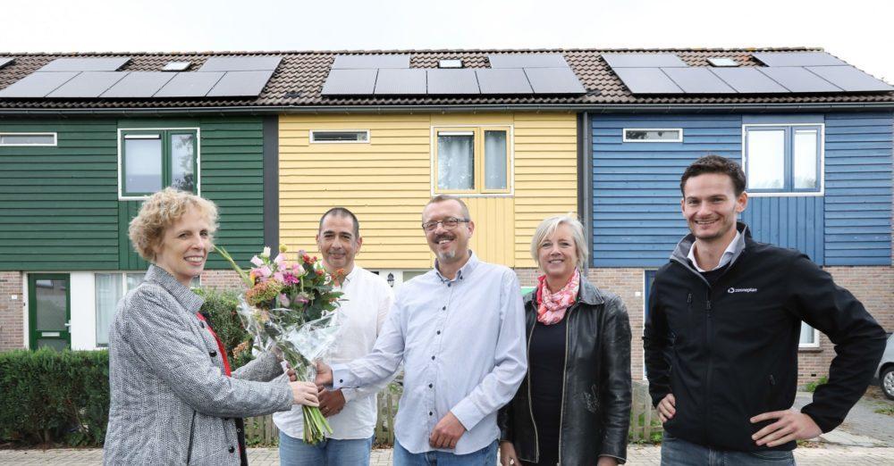 huurders 1000ste installatie zonnepanelen woningcorporatie centrada