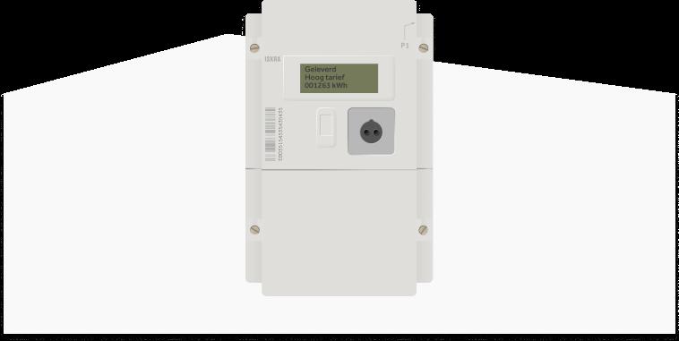 slimme meter energiemeter illustratie