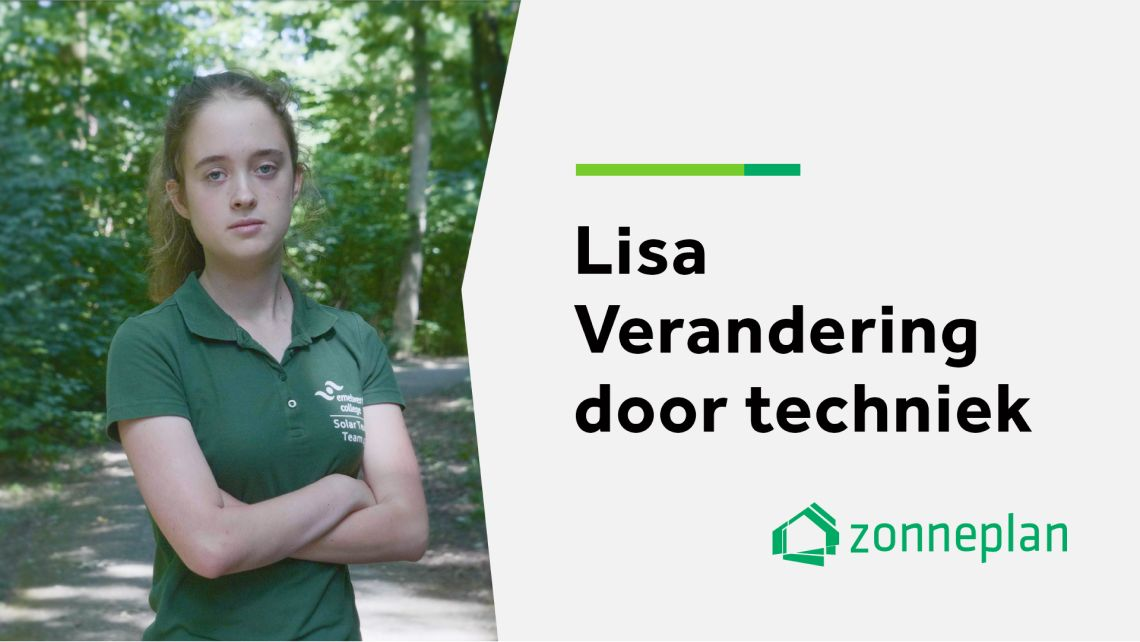 Young Solar Challenge Zonneplan Serie Emelwerda College Aflevering 2 Lisa