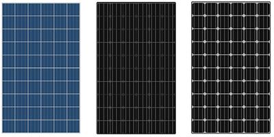 zonnepanelen blauw zonnepaneel zwart zonnepaneel zwart paneel met witte backsheet.png